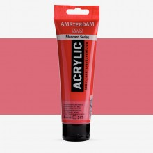 Talens : Amsterdam Standard : Acrylic Paint : 120ml : Transparent Red Medium
