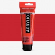 Talens : Amsterdam Standard : Acrylic Paint : 120ml : Naphthol Red Medium