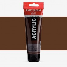 Royal Talens : Amsterdam Standard : Acrylic Paint : 120ml : Burnt Umber