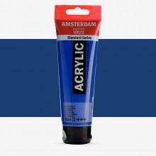 Royal Talens : Amsterdam Standard : Acrylic Paint : 120ml : Ultramarine