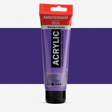 Talens : Amsterdam Standard : Acrylic Paint : 120ml : Ultramarine Violet
