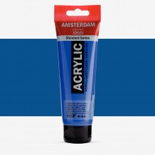 Royal Talens : Amsterdam Standard : Acrylic Paint : 120ml : Cobalt Blue Ultramarine