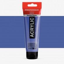 Talens : Amsterdam Standard : Acrylic Paint : 120ml : Ultramarine Violet Light