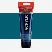 Talens : Amsterdam Standard : Acrylic Paint : 120ml : Greenish Blue