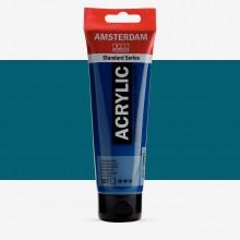 Talens : Amsterdam Standard : Acrylic Paint : 120ml : Greenish Blue
