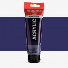 Talens : Amsterdam Standard : Acrylic Paint : 120ml : Permanent Blue Violet