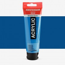 Royal Talens : Amsterdam Standard : Acrylic Paint : 120ml : Primary Cyan