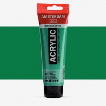Royal Talens : Amsterdam Standard : Acrylic Paint : 120ml : Emerald Green