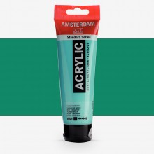 Royal Talens : Amsterdam Standard : Acrylic Paint : 120ml : Turquoise Green