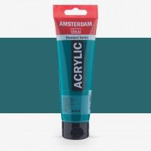 Royal Talens : Amsterdam Standard : Acrylic Paint : 120ml : Phthalo Green