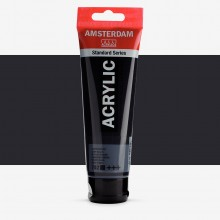 Talens : Amsterdam Standard : Acrylic Paint : 120ml : Lamp Black