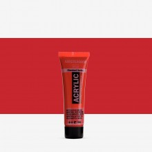 Royal Talens : Amsterdam Standard : Acrylic Paint : 20ml : Naphthol Red Medium