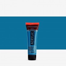 Talens : Amsterdam Standard : Acrylic Paint : 20ml : Brilliant Blue