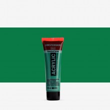 Royal Talens : Amsterdam Standard : Acrylic Paint : 20ml : Emerald Green