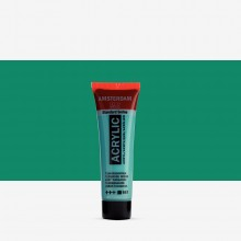 Talens : Amsterdam Standard : Acrylic Paint : 20ml : Turquoise Green