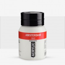 Talens : Amsterdam Acrylic 500ml bottle ZINC WHITE