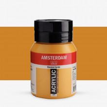 Royal Talens : Amsterdam Standard : Acrylic Paint : 500ml : Yellow Ochre