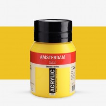 Talens : Amsterdam Standard : Acrylic Paint : 500ml : Azo Yellow Light