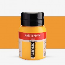 Talens : Amsterdam Standard : Acrylic Paint : 500ml : Azo Yellow Deep