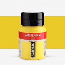 Talens : Amsterdam Standard : Acrylic Paint : 500ml : Primary Yellow
