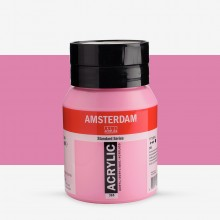Talens : Amsterdam Standard : Acrylic Paint : 500ml : Quinacridone Rose Light