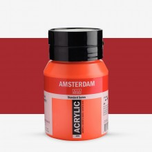 Royal Talens : Amsterdam Standard : Acrylic Paint : 500ml : Naphtol Red Light