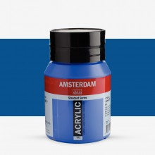 Royal Talens : Amsterdam Standard : Acrylic Paint : 500ml : Cobalt Blue Ultramarine