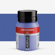 Royal Talens : Amsterdam Standard : Acrylic Paint : 500ml : Ultramarine Violet Light