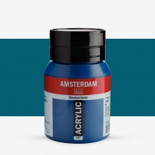 Royal Talens : Amsterdam Standard : Acrylic Paint : 500ml : Greenish Blue