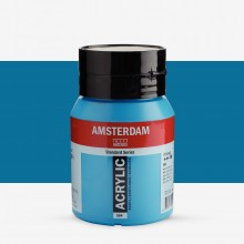 Royal Talens : Amsterdam Standard : Acrylic Paint : 500ml : Brilliant Blue