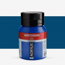 Talens : Amsterdam Standard : Acrylic Paint : 500ml : Phthalo Blue