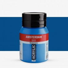 Talens : Amsterdam Standard : Acrylic Paint : 500ml : Primary Cyan