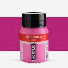 Talens : Amsterdam Standard : Acrylic Paint : 500ml : Permanent Red Violet Light