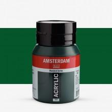 Talens : Amsterdam Standard : Acrylic Paint : 500ml : Sap Green