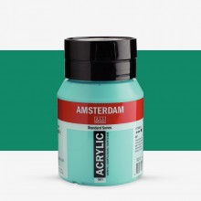 Royal Talens : Amsterdam Standard : Acrylic Paint : 500ml : Turquoise Green
