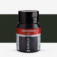 Royal Talens : Amsterdam Standard : Acrylic Paint : 500ml : Oxide Black