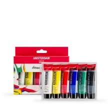 Royal Talens : Amsterdam Standard : Acrylic Paint Set : 6x20ml