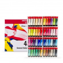 Royal Talens : Amsterdam Standard : Acrylic Paint : 20ml : Set of 48