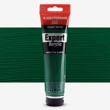 Talens : Amsterdam Expert : Acrylic Paint : 150ml : S3 : Permanent Green Deep