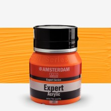 Royal Talens : Amsterdam Expert : Acrylic Paint : 400ml : S4 : Cadmium Orange