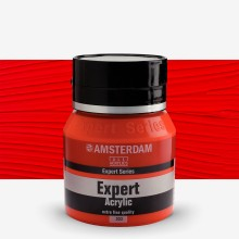 Talens : Amsterdam Expert : Acrylic Paint : 400ml : S4 : Cadmium Red Light