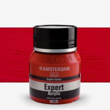 Royal Talens : Amsterdam Expert : Acrylic Paint : 400ml : S4 : Cadmium Red Deep