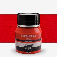 Royal Talens : Amsterdam Expert : Acrylic Paint : 400ml : S4 : Cadmium Red Medium