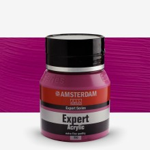 Talens : Amsterdam Expert : Acrylic Paint : 400ml : S3 : Permanentred Violet Opaque