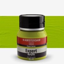 Royal Talens : Amsterdam Expert : Acrylic Paint : 400ml : S3 : Yellowish Green