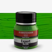 Talens : Amsterdam Expert : Acrylic Paint : 400ml : S2 : Permanent Green Light