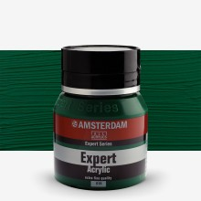 Royal Talens : Amsterdam Expert : Acrylic Paint : 400ml : S3 : Permanent Green Deep