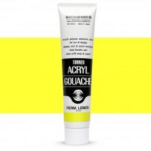 Turner : Acrylic Gouache Paint : 100ml : Permanent Lemon 10