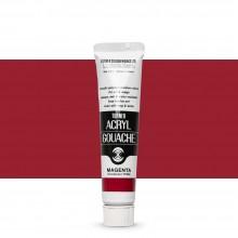 Turner : Acrylic Gouache Paint : 20ml : Magenta 161