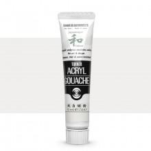 Turner : Acrylic Gouache Paint : Japanesque Texture : 20ml : Japanesque P.White Gohun 299